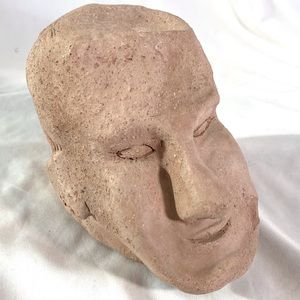 Other - CLAY HEAD SCULPTURE UNSIGNED BY ARTIST